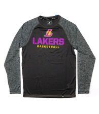 New Fanatics Los Angeles Lakers Static Long Sleeve T-Shirt Xl lebron kobe davis