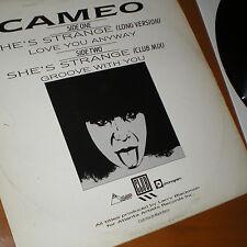 "Cameo - She's Strange (Long Version) 12"" Vinyl Maxi Single 1984"