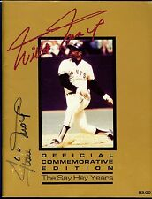 1983 Willie Mays Day Autographed Official Commemorative Edition Program