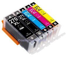 5x New Hi-Yield Ink For Canon PGI270XL CLI271XL Pixma TS5020 TS6020 TS8020 9020