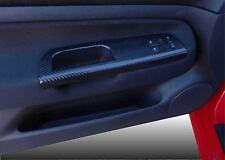 VW Golf Mk4 Efecto de fibra de carbono pegatina 2 guarnecido de puerta