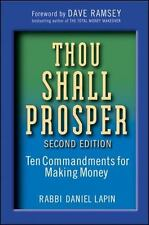 Thou Shall Prosper: Ten Commandments for Making Money: By Lapin, Daniel