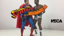 DC Comics Action Figures 2 pack Superman vs Muhammad Ali Cassius Clay NECA
