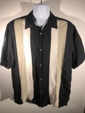 Monte Carlo Dress Shirt  Black Cubano Large 42/44