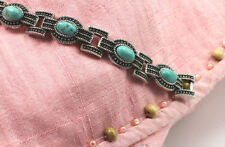 Handmade Turquoise Silver Plated Fashion Bangles