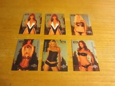 Nicole Bennett +5 Lot of 6 2004 Bench Warmer Series Two Hotties Insert Cards