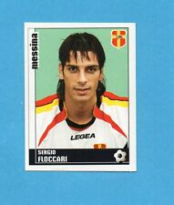 PANINI CALCIATORI 2006-2007- Figurina n.241- FLOCCARI - MESSINA -NEW