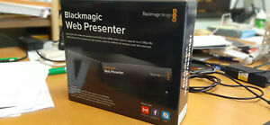 Blackmagic Web Presenter con smart panel