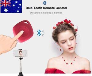Bluetooth Selfie Shutter Remote Camera selfie Button 4 iPhone Samsung ws Lanyard