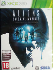 ALIENS COLONIAL MARINES LIMITED EDITION. JUEGO XBOX 360. PAL-UK. CASTELL. USADO.