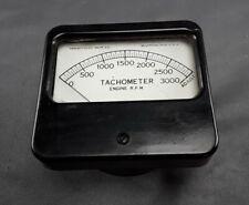 Triplett Electric Instrument Co Tachometer Panel Meter Gauge Vintage Bakelite
