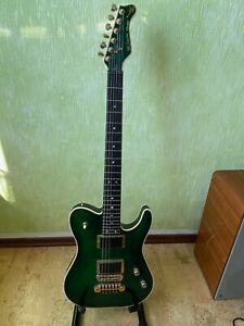 Valley Arts M-Series Custom Line Limited Edition Telecaster Type-2H Trans Green