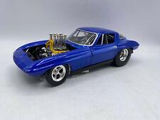 Hot Wheels Pro Street Chevrolet Chevy Corvette 1/18 Scale Diecast