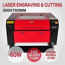 CO2 Machine Laser à Graver 60w Engraving Engraver Machine U-Flash DSP contrôle