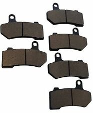 2015-2016 Harley Ultra Classic Electra Glide Low Front & Rear Brake Pads FA409