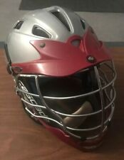 Cascade Model Cpx Lacrosse Helmet Red/Silver Adult Standard One Size Fits Most
