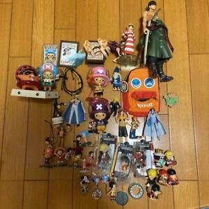One Piece Figure Key Chain Bulk Sale Luffy Zoro Sanji Nami Chopper Japan Anime