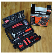 New 142 Piece Tool Set Home Repair Screwdrivers Hammer Hand Tools Maintenance