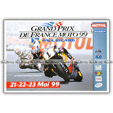 PUB GRAND PRIX DE FRANCE au Circuit PAUL RICARD Ad / Publicité COURSE MOTO 1999