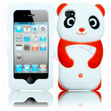 CUTE SILICONE PANDA SOFT CASE FOR IPHONE 4 4G 4S SAFARI GEL COVER ANIMAL SKIN