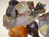 Tumbling Rock Rough - AGATE - 3 LB Lot - Perfect size for Tumbler Polisher NICE