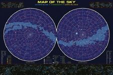 Jigsaw puzzle Space Astrology Map of the Sky 1000 piece NEW made in USA