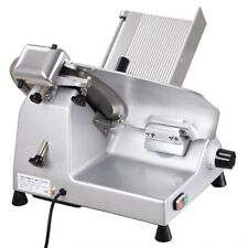 "Commercial 12"""" Blade Meat Slicer Deli Meat Cheese Food Cutter Industrial 440rpm"