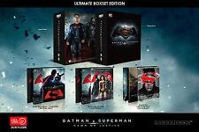 BATMAN V SUPERMAN HDZETA BOX SET TRIPLE STEELBOOK BLU RAY ONLY 500 COPIES OOP