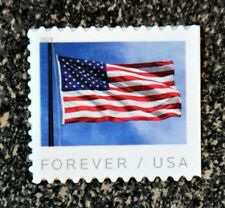 2019USA #5344 Forever U.S. Flag US - Single From Booklet of 20  Mint  (APU)