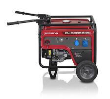 Gruppo elettrogeno generatore di corrente Honda EM 5500CXS Monofase 5.5 KW AVR