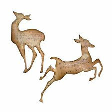 Sizzix Bigz Reindeer Flight die #656923 MSRP $19.99 Tim Holtz Alterations