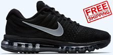 Nike Air Max 2017 Men's Black Running Shoes Sneakers Trainers Size sz 10