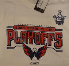 50fb09d339a New Reebok Washington Capitals 2008 Stanley Cup Playoffs NHL T-Shirt Medium