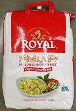 20 Lbs ROYAL SELLA Parboiled NON-GMO Extra Long Grain EZ-Cook White Basmati Rice