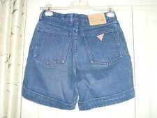Women's bleu vintage short en jean Guess? Georges Marciano Guess Rétro Cool 29