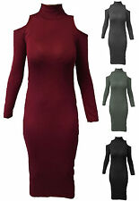 Jersey Knee Length Stretch, Bodycon Dresses for Women