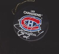 Alexander Perezhogin Autograph Montreal Canadiens Signed Puck   *