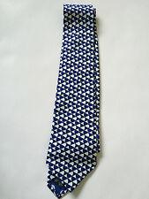 PAUL SMITH Cravatta - Blu cravatta con motivi - 9cm Lama