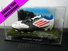 ✺Signed✺ MICHAEL HURLEY Football Boot PROOF COA Essendon Bombers 2017 Guernsey