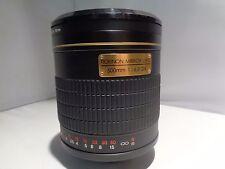 Rokinon 500mm f/6.3 DX Lens For Canon (Black) Mirror Lens High Definition