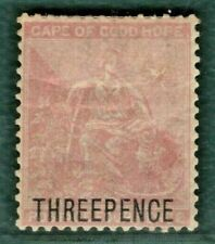 South Africa COGH QV Stamp SG.35 3d on 4d (1880) Mint MM* Cat £150- BBLACK24