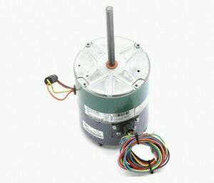 Genteq 1/3 HP Condenser Fan Motor,ECM,1100/850 Nameplate RPM,460 Voltage (6903)