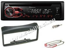 Pioneer DEH-S100UB autoradio CD/USB + Kit montaggio FIAT Multipla dal 1999 Grigi