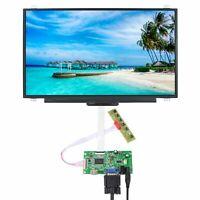 "HDM I VGA LCD Controller Board 17.3"" N173HCE NV173FHM 1920x1080 IPS LCD Screen"