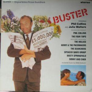 PHIL COLLINS JULIE WALTERS BUSTER LP Original Soundtrack Various Artists 1988 EX