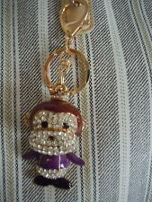 FABULOUS KING / QUEEN / PRINCE/ PRINCESS MONKEY WITH A CROWN BLING KEY CHAIN L2