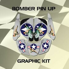 Bombardier DS650 DS 650 Pin Up Graphic Kits