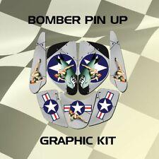 Kawasaki ATC Prairie Pin Up Graphic Kits
