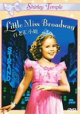 "New DVD  ""Little Miss Broadway "" Shirley Temple"