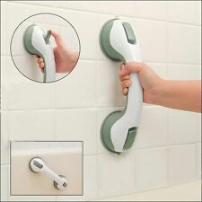 Grab Handle Support Bar Suction Cup Shower Bath Safety Grip Rail Disability Aid